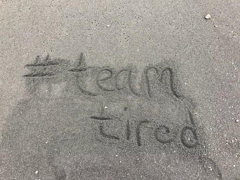 Team Tired Stories